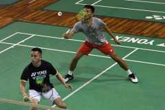 Fajar/Rian lalui rubber game menuju perempat final Denmark Open